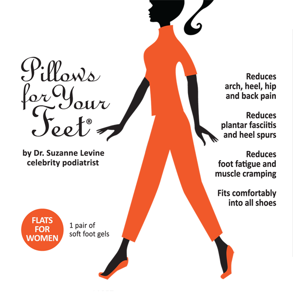 Pillows For Your Feet for Flats