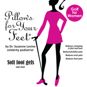 Pillows For Your Feet Golf for Women