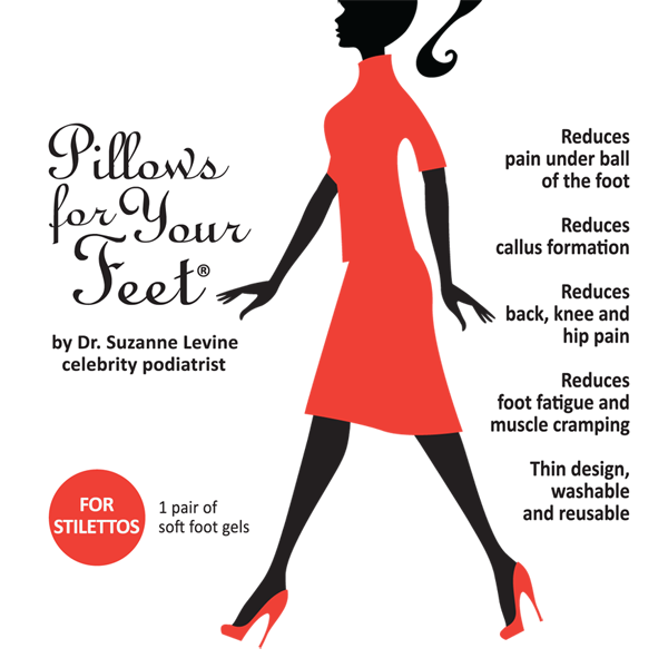 Pillows For Your Feet for Stilettos