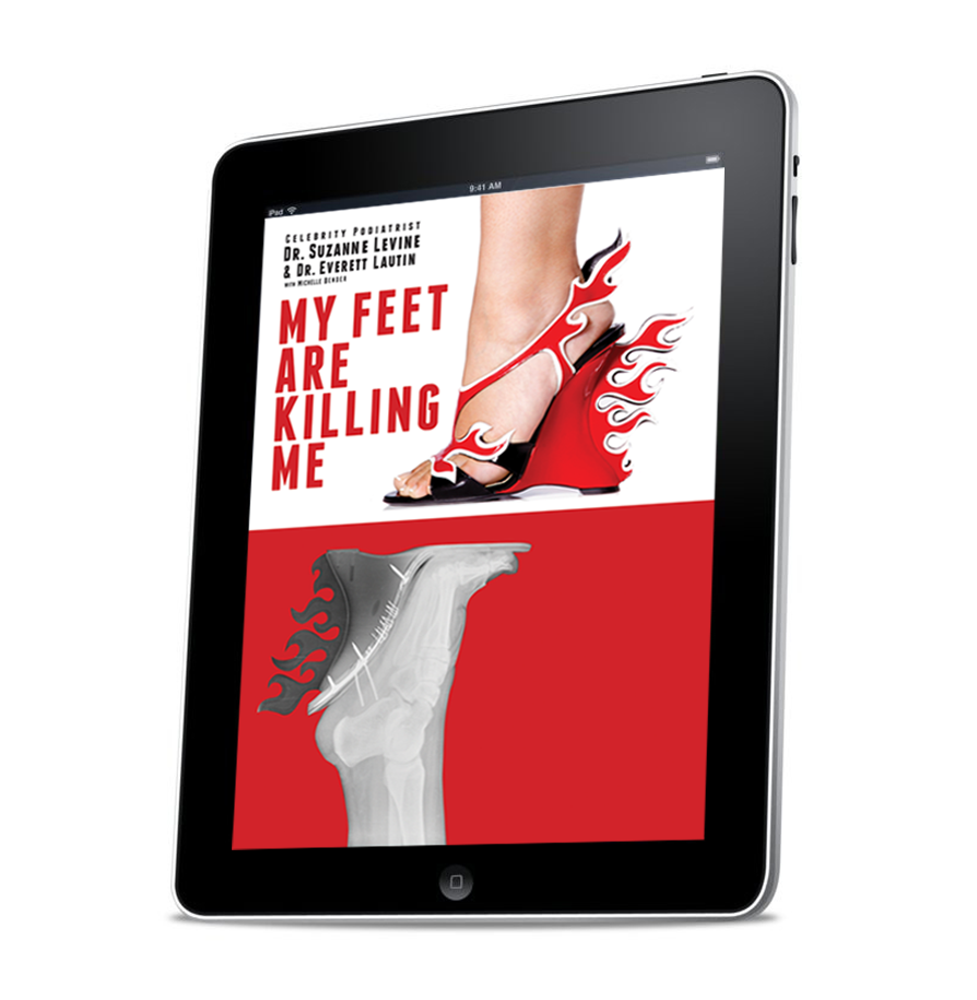 My Feet Are Killing Me - eBook for iPads & Tablets