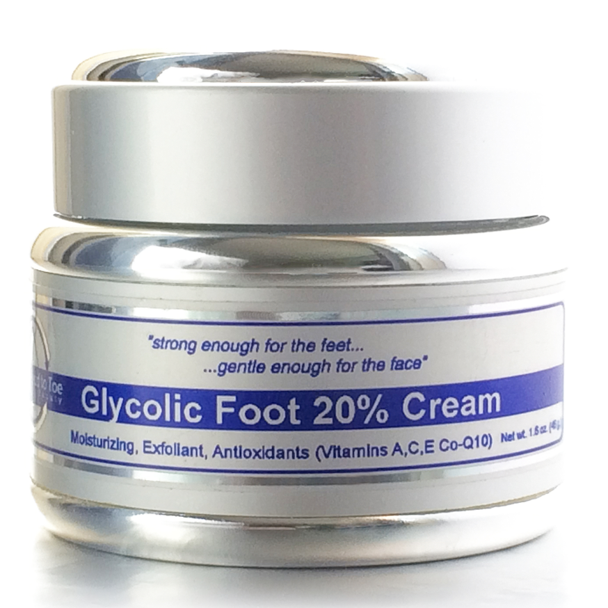 My Feet Are Killing Me Store - Head to Toe Beauty® Glycolic Foot 20% Cream by Dr. Suzanne Levine