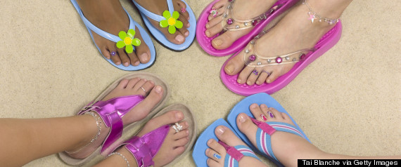 Sandals & Flip Flops - My Feet Are Killing Me by Dr. Suzanne Levine - Featured Huffington Post