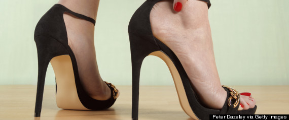 Stilettos - My Feet Are Killing Me, Huffington Post